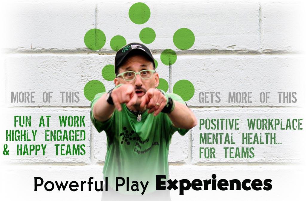 Edmonton Team Building Facilitator Powerful Play Experiences